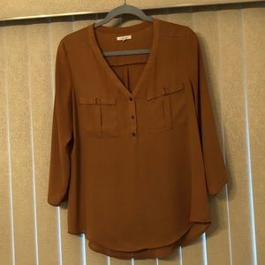 Maurices 3/4 Sleeve Blouse - Large